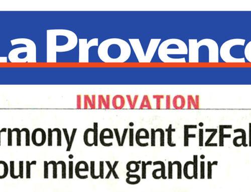 Le Groupe FizFab dans le quotidien régional «La Provence»