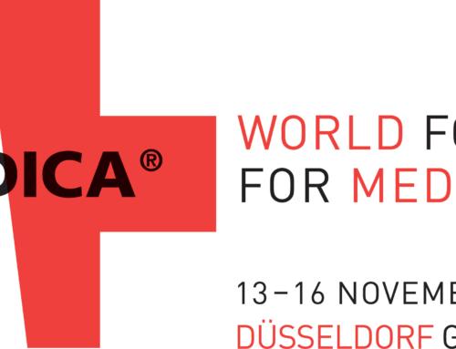 Venez retrouver GENIN au salon MEDICA à Dusseldorf en Allemagne !
